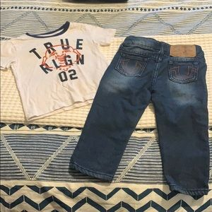 True Religion 18m outfit
